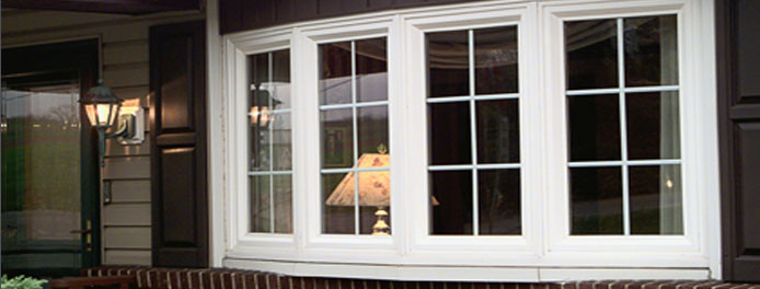 Bow replacement windows vinyl bow replacement windows for Energy efficient bay windows